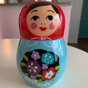 Nesting Dolls Cookie Jar